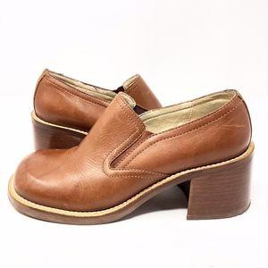 Vintage Maripe | 90s Clogs Heels Genuine Leather